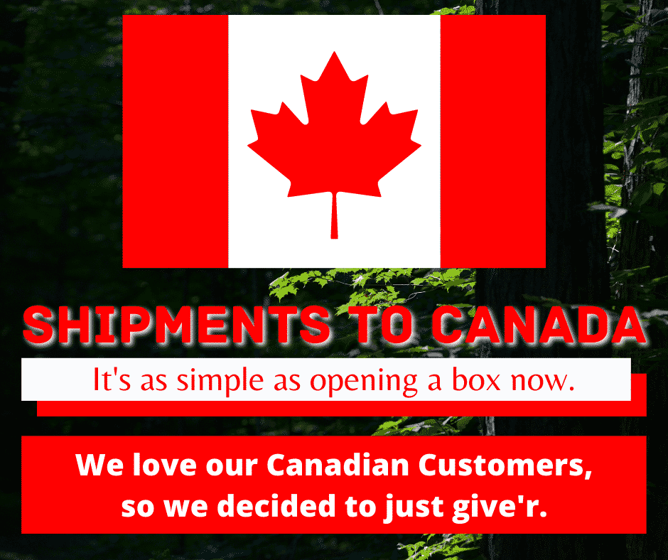 We've simplified shipments to Canada.